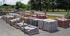 Rinox pavers and Pavestone hardscape supplies are readily available every day.